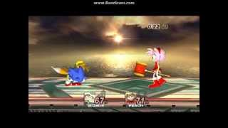 getlinkyoutube.com-YTM SSBB Sonic Dolphin - the Classic Characters(Sonic Generations) vs Amy Rose