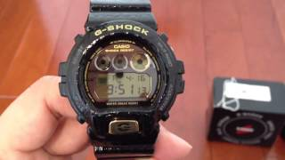 getlinkyoutube.com-Casio GShock DW6900CR-1 Crocodile