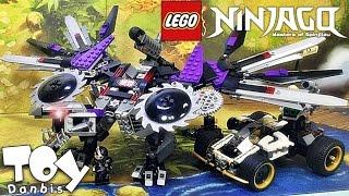 getlinkyoutube.com-레고 닌자고 닌드로이드 드래곤 70725 조립 리뷰 LEGO Ninjago Nindroid Mech Dragon