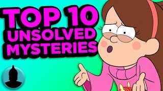 getlinkyoutube.com-Top 10 Gravity Falls Mysteries That May Never Be Solved (Tooned Up #95) @ChannelFred