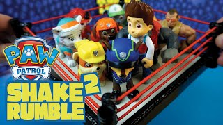 getlinkyoutube.com-Paw Patrol Toys - Battle Royal 2 ft. Paw Patrol Chase Ryder & Paw Patrol - Full Episodes by KidCity