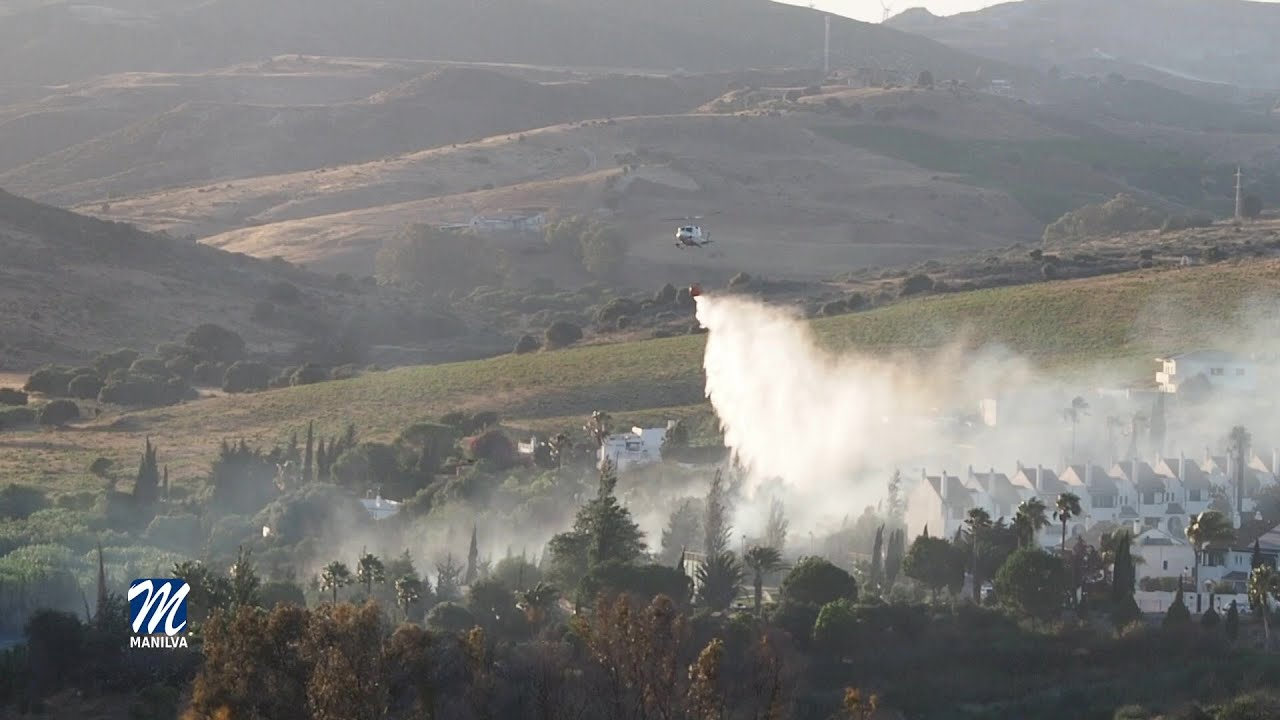 El incendio de la zona del Goleto quedó controlado en la noche de ayer
