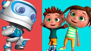 getlinkyoutube.com-Robot Song | Kids Songs & Nursery Rhymes | Videogyan 3D Rhymes