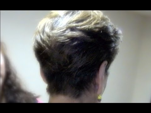 Corte de pelo corto para mujer paso a paso - Short haircut for women