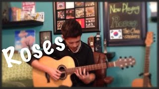The Chainsmokers Ft. Rozes -Roses - Cover (Fingerstyle Guitar)