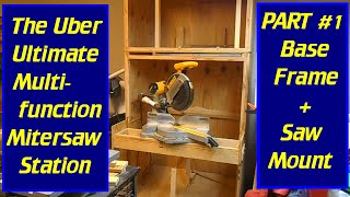 getlinkyoutube.com-DIY Ultimate Uber Multi-function Mitersaw Stand - Part #1