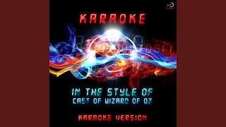 getlinkyoutube.com-Merry Old Land of Oz (Karaoke Version)