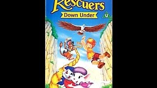 Digitized Closing To The Rescuers Down Under (UK VHS)
