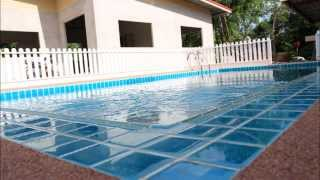 getlinkyoutube.com-สระว่ายน้ำขนาด  4x8 Skimmer box