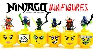 getlinkyoutube.com-Ninjago Possession Ghosts Warriors w/ Evil Green Ninja LEGO KnockOff Minifigures Set 29