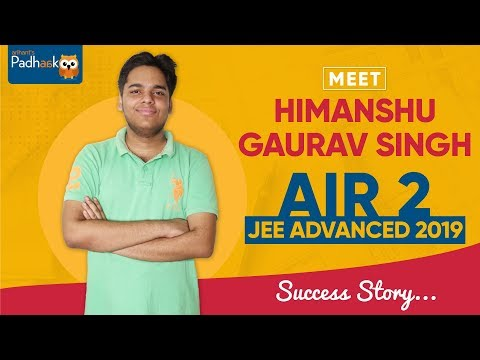 JEE Advanced Topper 2019 | AIR 2