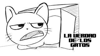 getlinkyoutube.com-LA VERDAD DE LOS GATOS | DRAW MY LIFE: LA SERIE