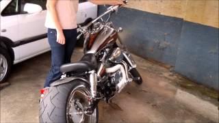 getlinkyoutube.com-Honda Shadow 750cc Chopper 2007