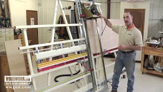 getlinkyoutube.com-Woodworking Tips: Router - Versatility of a Panel Saw and Router Combo Machine