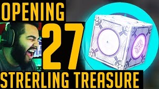 getlinkyoutube.com-Destiny Hunt for Taken Armor. OPENING 27 Sterling Treasure Boxes | New Spektar Gear | New Update