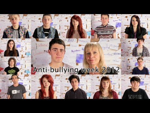 Anti-Bullying 2012 'We're better without bullying""