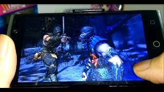 getlinkyoutube.com-Alcatel Flash 2 Gametest - Mortal Kombat X