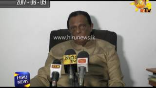 Many parties stand against Minister John Amaratunga over reprimanding the Hiru Journalist