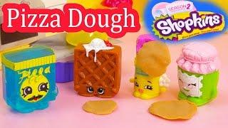 getlinkyoutube.com-Shopkins Frozen Pa Pizza Dough Class Season 1 and 2 Playing Video Playdoh Fun Cookieswirlc