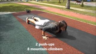 10 7 5 Fitness Workout (5 minutes Core Workout)