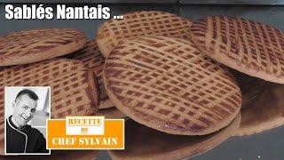 getlinkyoutube.com-Sablés nantais - Recette par Chef Sylvain