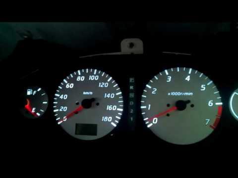Калибровка панели приборов Nissan Bassara 3