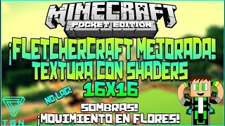 getlinkyoutube.com-Épica Textura Con Shaders|Texturas Para Minecraft Pocket Edition 0.11.1|FletCherCraft