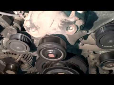 Ремень генератора замена на Mercedes E220 w211