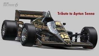 getlinkyoutube.com-Gran Turismo 6 Opening - Tribute to Ayrton Senna
