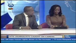 getlinkyoutube.com-KTN journalist caught on camera