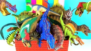 getlinkyoutube.com-DINOSAUR Toy Box - Learn about Dinosaurs - What's in the Box?