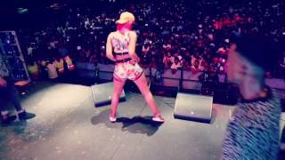 Babes Wodumo Dance Moves Live