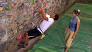getlinkyoutube.com-アスリート解体新書 (33)スポーツクライミング ~省エネで壁を制す~