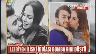 Mustafa Ceceli'nin Eski Eşi Sinem Gedik İntizar İle Lezbiyen İlişkisi İddiası ŞOK / Show Haber width=