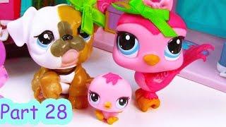 getlinkyoutube.com-LPS Baby Shower Party - Mommies Part 28 Littlest Pet Shop Series Movie LPS Mom Babies