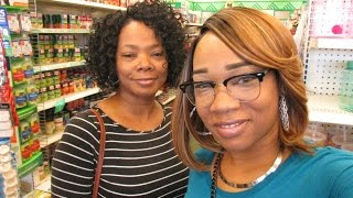 Me and Moms hanging out..Dollar tree . .. 3/28/2017