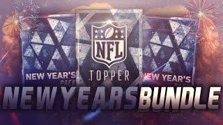 NEW YEARS BUNDLE OPENING! BEST BUNDLE EVER! - Madden Mobile 16