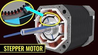 getlinkyoutube.com-How does a Stepper Motor work ?