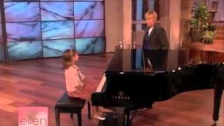 getlinkyoutube.com-Emily Bear - Piano Prodigy - Age 6 - edited 1st appearance on Ellen Show