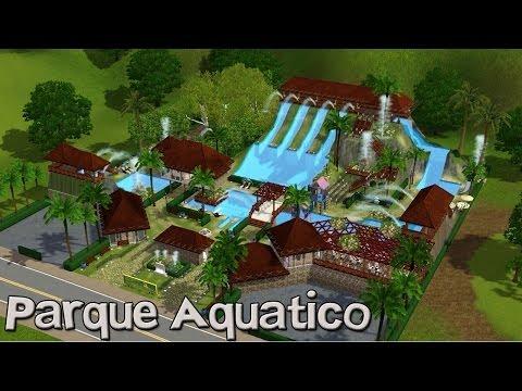 The Sims 3- Construindo um Parque Aquático