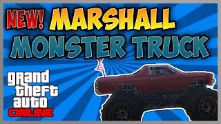 "getlinkyoutube.com-GTA 5 Next Gen: NEW! ""Marshall"" Monster Truck In GTA 5 Online (PS4 & Xbox One)"