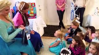 getlinkyoutube.com-Frozen Birthday Party theme for a 4 year old