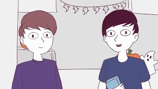 Dan and Phil animated- Spooky cupcakes