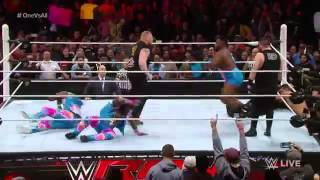 getlinkyoutube.com-Brock Lesnar Returns to RAW January 11, 2016