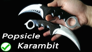 getlinkyoutube.com-CS:GO Popsicle Karambit knife DIY tutorial