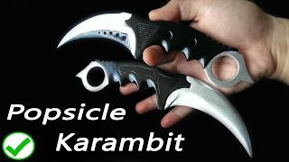CS:GO Popsicle Karambit knife DIY tutorial