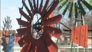 getlinkyoutube.com-Windmills of Mr. Vandivier in Indiana