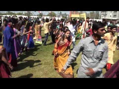 Global Village 2014 Student Garba @ KJ Campus, Savli, Vadodara, Gujarat, India