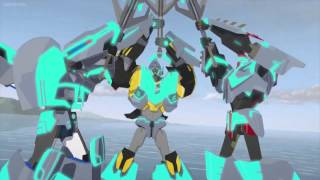 getlinkyoutube.com-Transformers Robots in Disguise Megatronus' Death