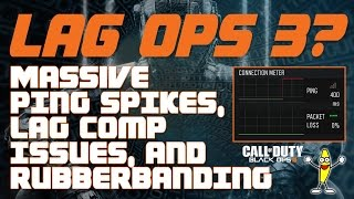 getlinkyoutube.com-Lag In Black Ops 3 - 400 ms Ping Spikes, Lag Compensation,  and Rubberbanding